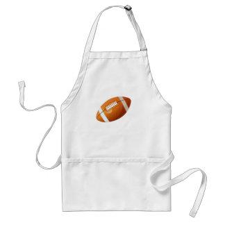 football, adult apron
