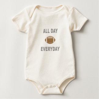 Football All Day Everyday Baby Bodysuit