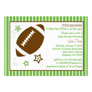 325 football baby shower invitations football baby shower