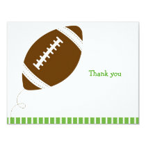 Football All Star Flat Thank You Note Cards