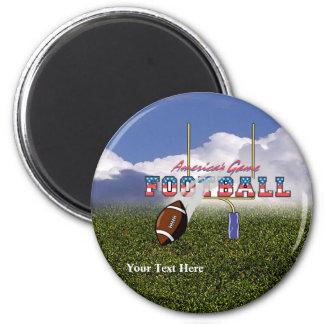 Football – America's Game Design Fridge Magnet