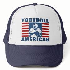Football American hat hat