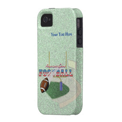 Football Americas Game  iPhone 4/4S Vibe Universal Case-Mate iPhone 4 Cover