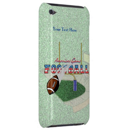 Football - Americas Game iPod Touch Barely There Barely There iPod Covers