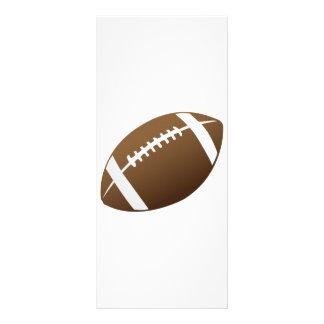 Football and Football Teams Graphic Rack Card