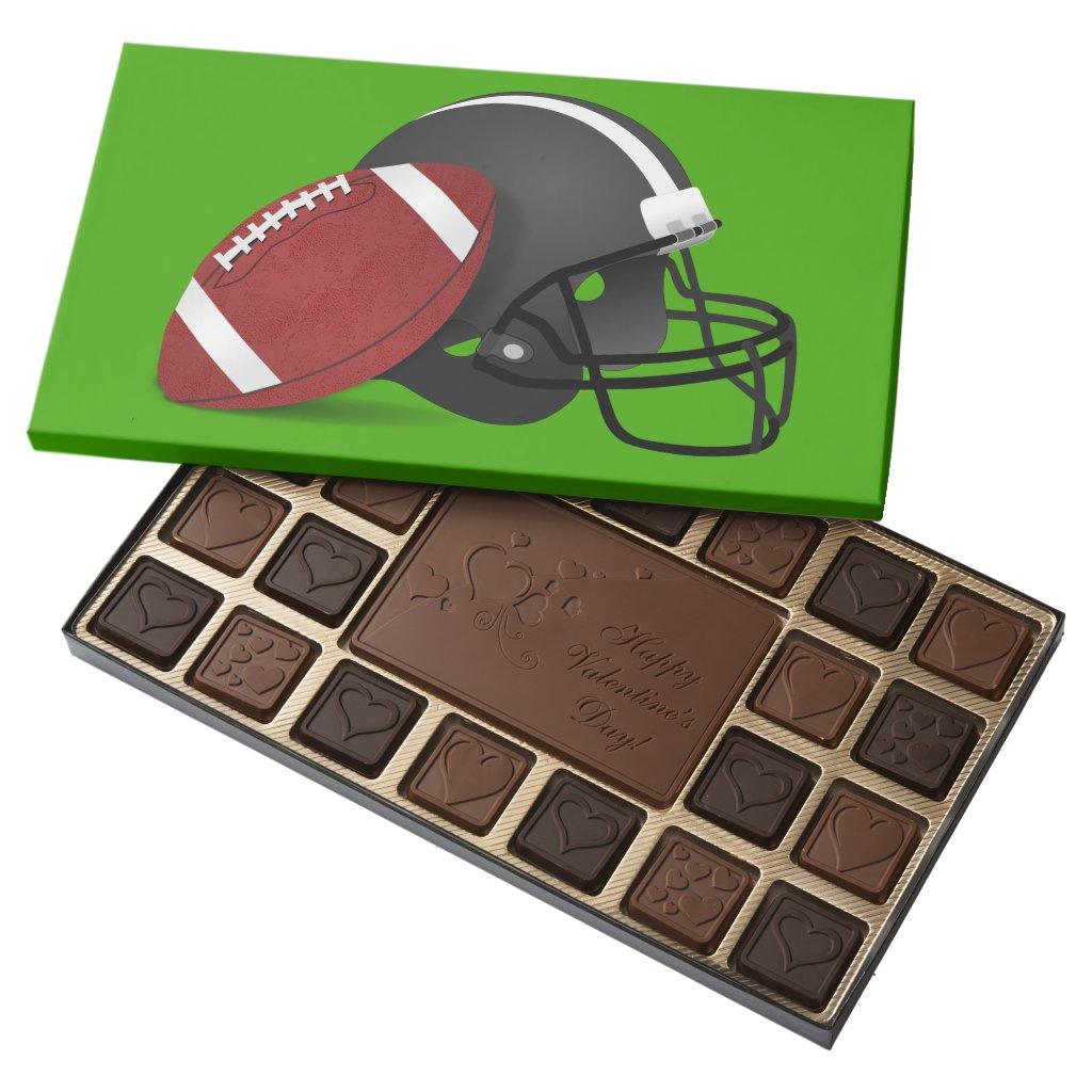 Football And Helmet Assorted Chocolates