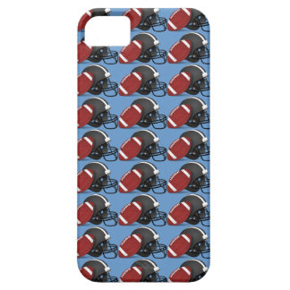 Football and Helmet Blue iPhone 5 Cover