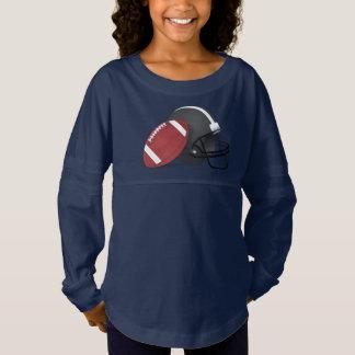 Football and Helmet Jersey Shirt