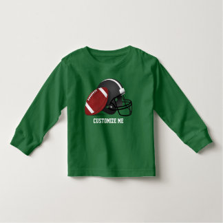 Football and Helmet Toddler T-shirt