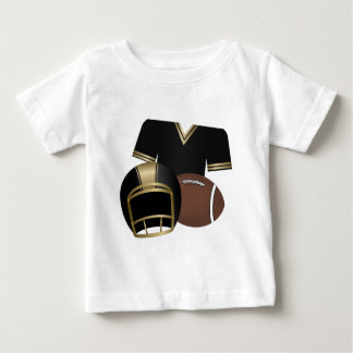 Football and Jersey and Helmet Baby T-Shirt