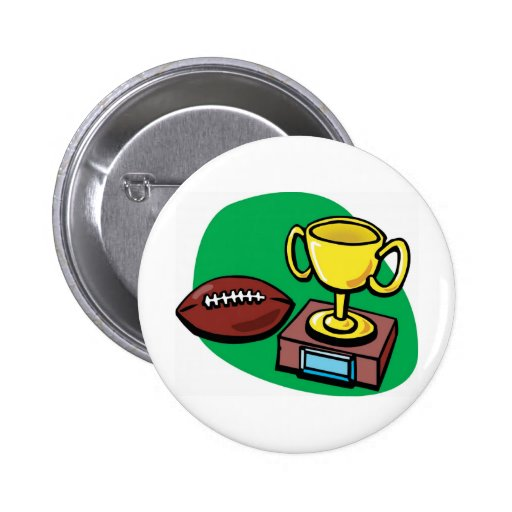 Football and Trophy Buttons