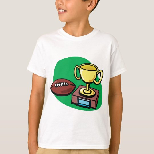 Football and Trophy T-Shirt
