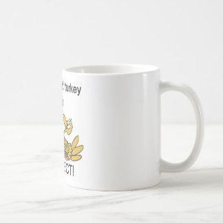Football and Turkey PERFECT! Classic White Coffee Mug