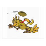 Football and Turkey Post Cards