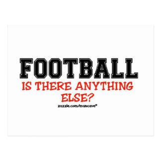 Football..Anything Else? Postcard