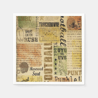 Football Arena Father's Day Party Paper Napkins