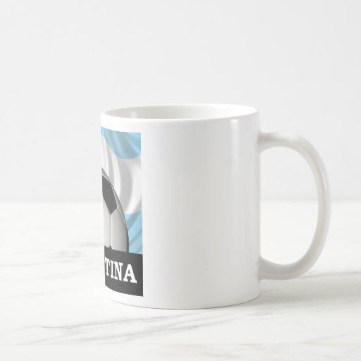 Football Argentina Classic White Coffee Mug