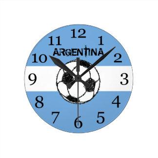 Football, Argentina Wall Clock