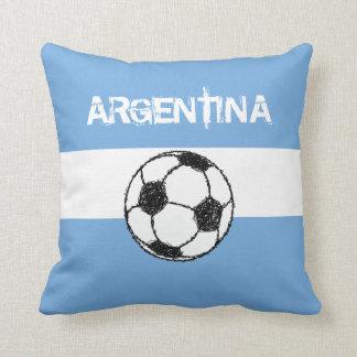 Football, Argentina Throw Pillow