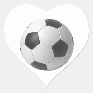 Football art gifts heart sticker