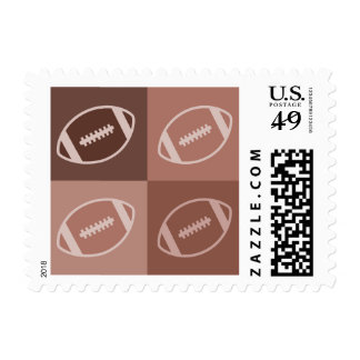 Football Art Stamp