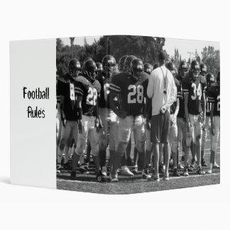 Football Avery Binder