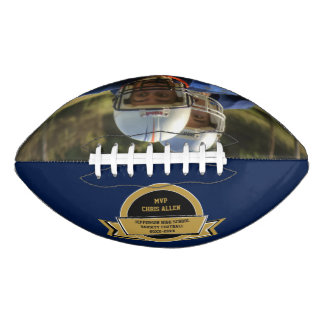 Football Award With Your Own Photo
