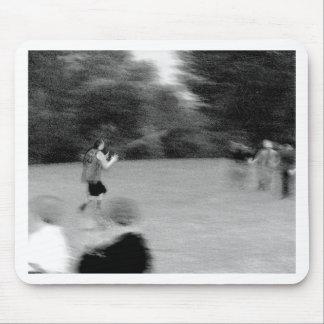Football - B&W Sketch Mouse Pad