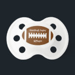"""Football Baby 0-6 months BooginHead&#174; Pacifier<br><div class=""""desc"""">Football Baby 0-6 months BooginHead&#174; Pacifier</div>"""
