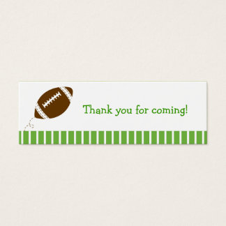 Football Baby Boy Goodie Bag Tags Gift Tags