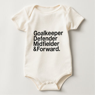 FOOTBALL BABY CREEPER