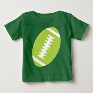 FOOTBALL BABY Green | Front Lime Green Football Shirt