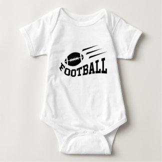 Football baby jump suit with bouncing ball baby bodysuit