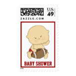 Football Baby Shower Postage Postage
