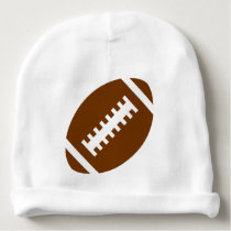 FOOTBALL Baby | Sports Football Graphic Baby Beanie