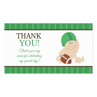Baby Boy Shower Thank You Business Cards & Templates