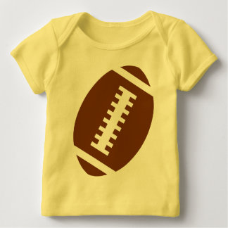 FOOTBALL BABY Yellow | Front Football Graphic Shirt