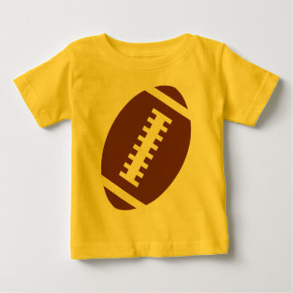 FOOTBALL BABY Yellow | Front Football Graphic Tee Shirt