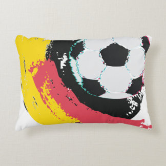 Football Ball and Strokes2 Accent Pillow