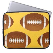 football ball laptop sleeve