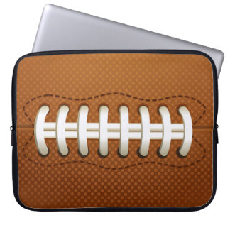 football ball laptop sleeve