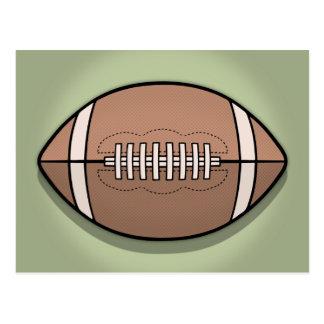 Football Ball Postcard