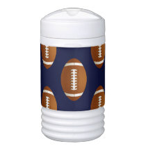 Football Balls Sports Beverage Cooler