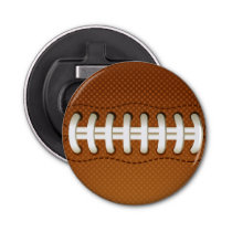 Football Balls Sports Bottle Opener