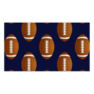 Football Balls Sports Double-Sided Standard Business Cards (Pack Of 100)