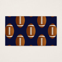 Football Balls Sports Business Card