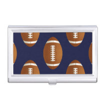Football Balls Sports Business Card Case