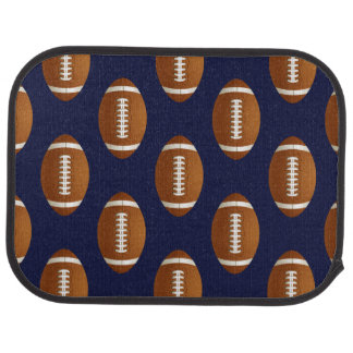 Football Balls Sports Car Mat