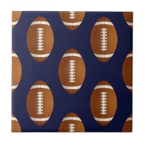 Football Balls Sports Ceramic Tile