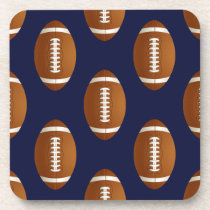Football Balls Sports Coaster